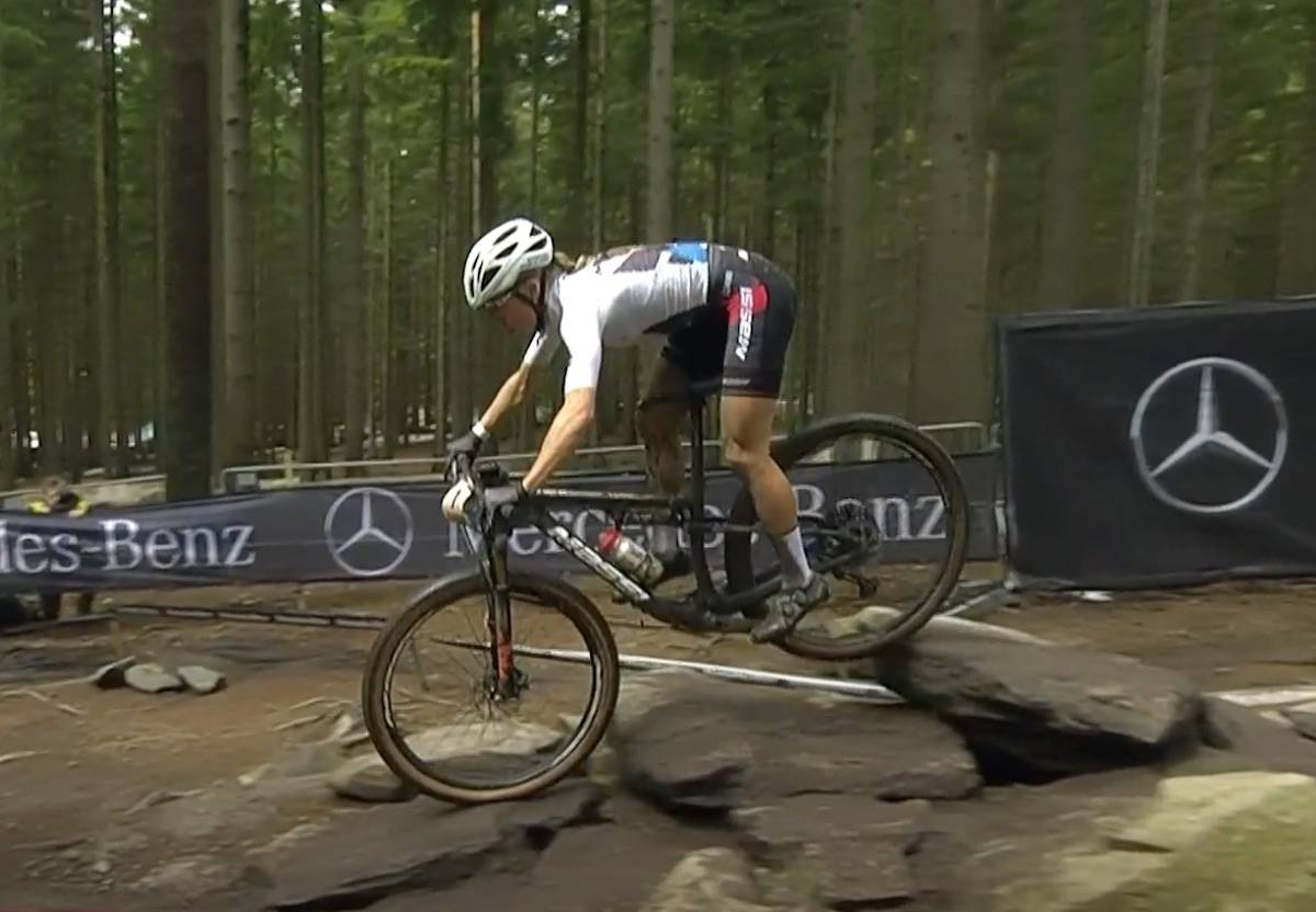 Loana Lecomte vant verdenscuprittet i Nove Mesto