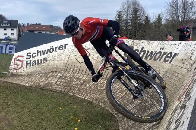 Erik Hægstad verdenscupåpning Albstadt 2021