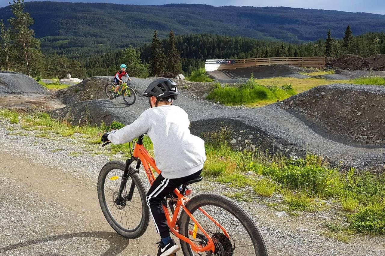TIL LÅNS: Valdres CK har hatt stor suksess med utlån av sykler. Foto: Stian Ulberg