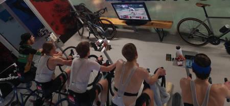 Sykkeltrening og trening for syklister