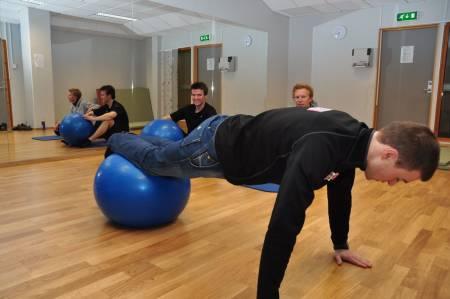 trening stabilisering