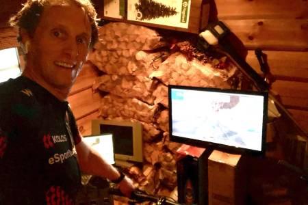 Ole Christian Fagerli Zwift og rullesykling