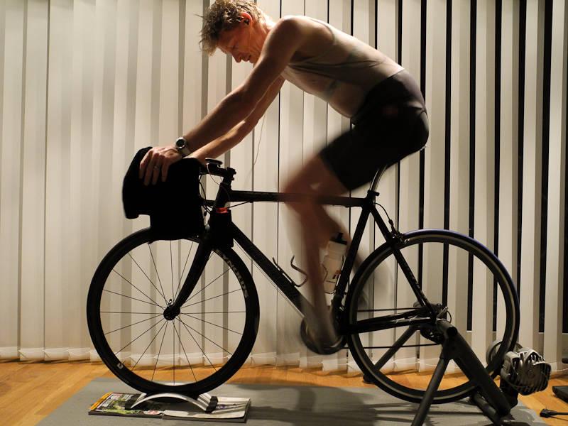 tips treningsprogram sykkel rulle