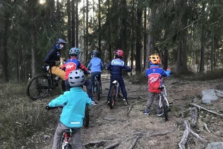 sykkelklubb trening barn sykkeltrening