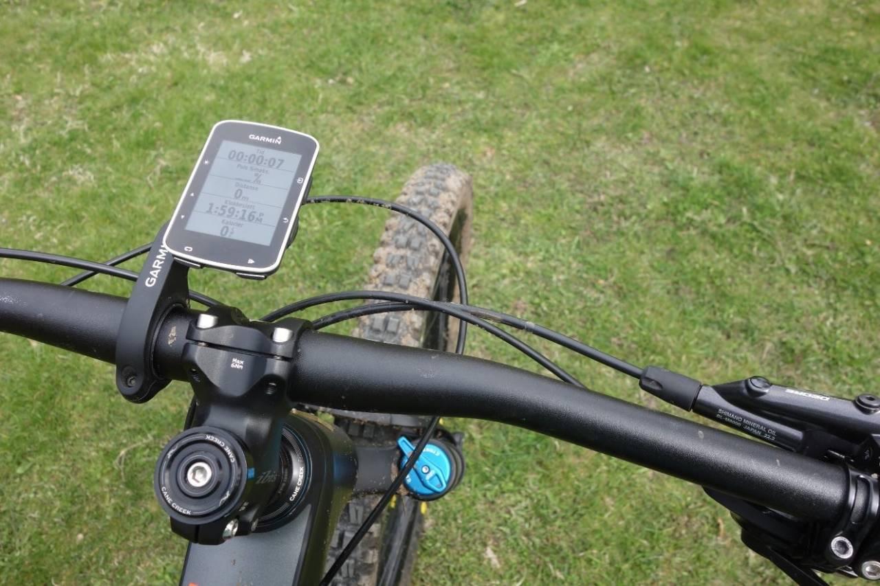 spar strøm på sykkelcomputer