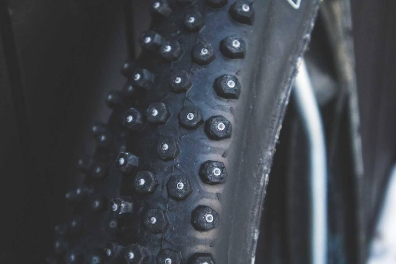 velge piggdekk sykkel terrengsykkel