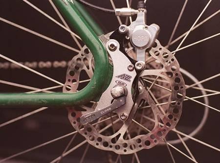 skivebrems gammel sykkel