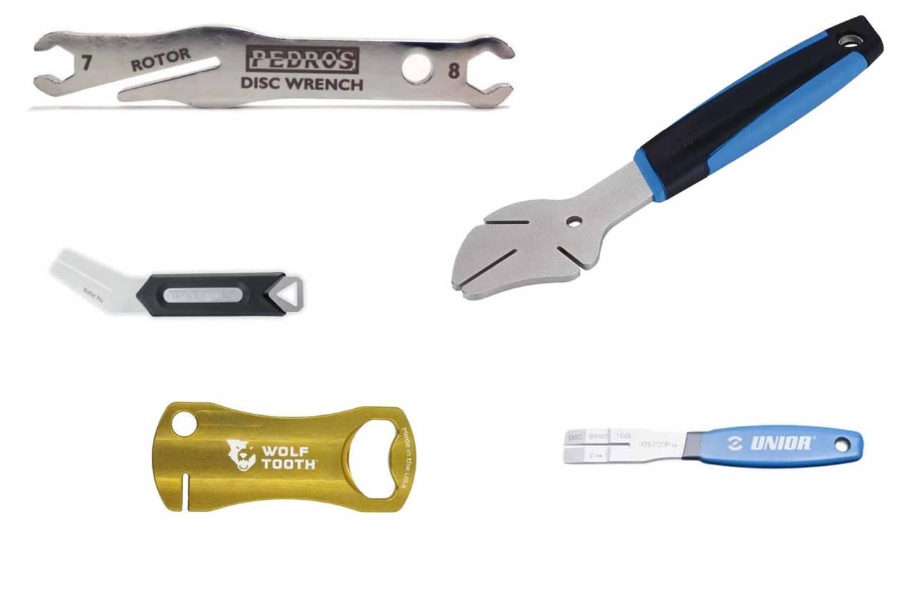 verktøy rette opp bremseskiver sykkel