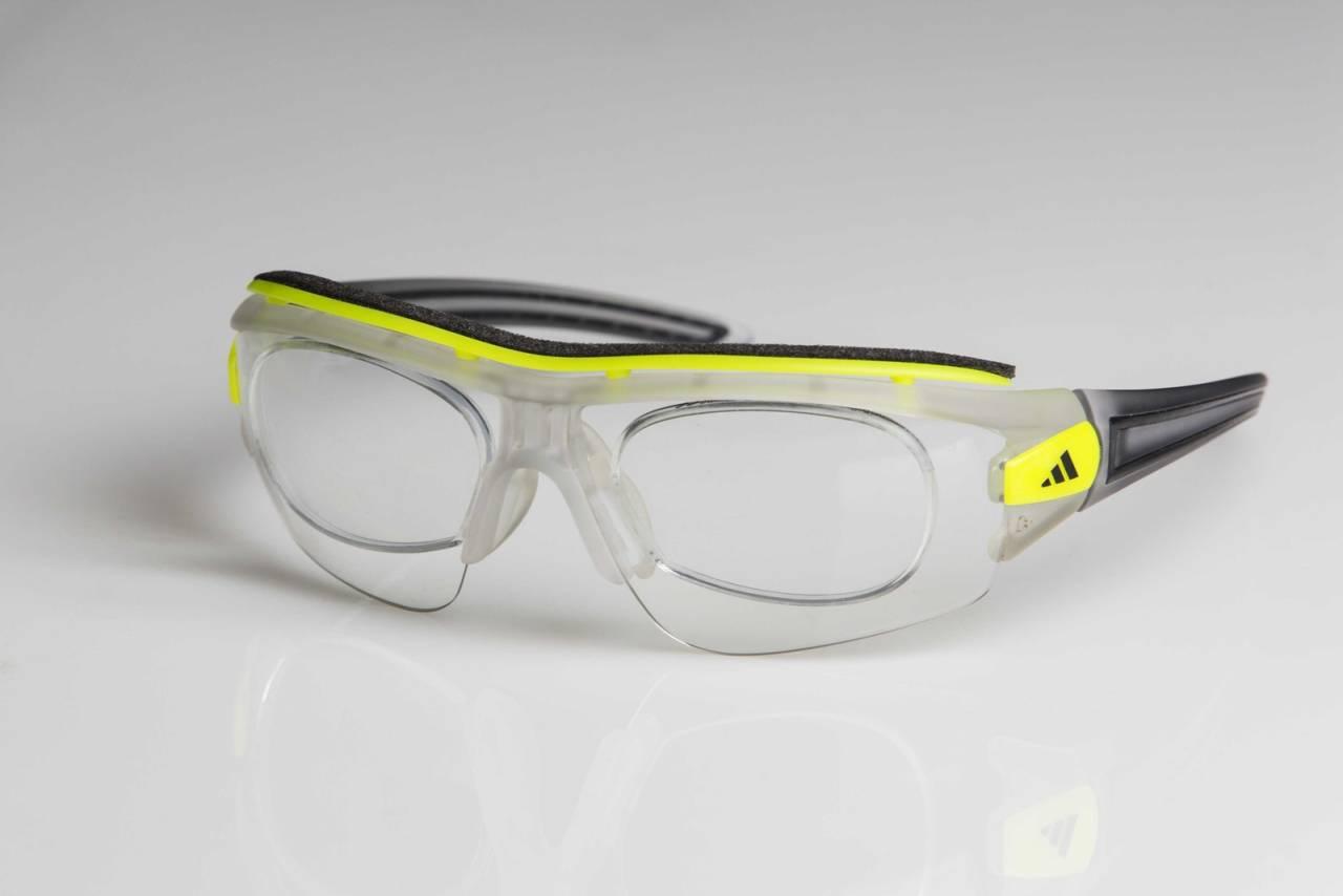 test adidas sykkelbriller styrke styrkeglass