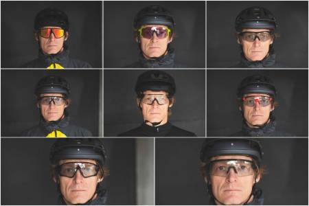 Sykkelbriller fra Julbo, Sweet, Shimano, Oakley, Smith, Julbo, Oakley og BBB