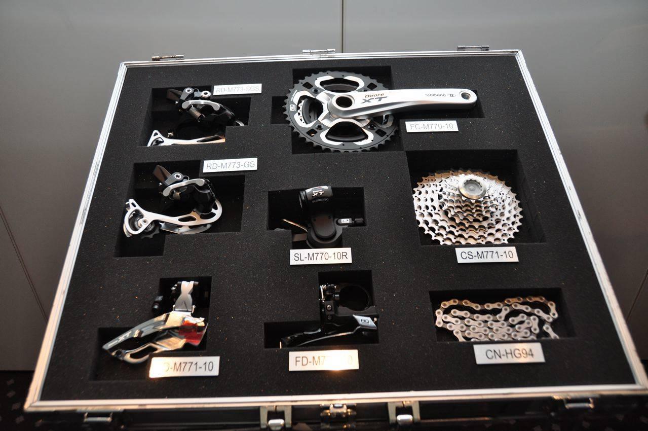 Shimano xt 3x10 sykkelgir gir