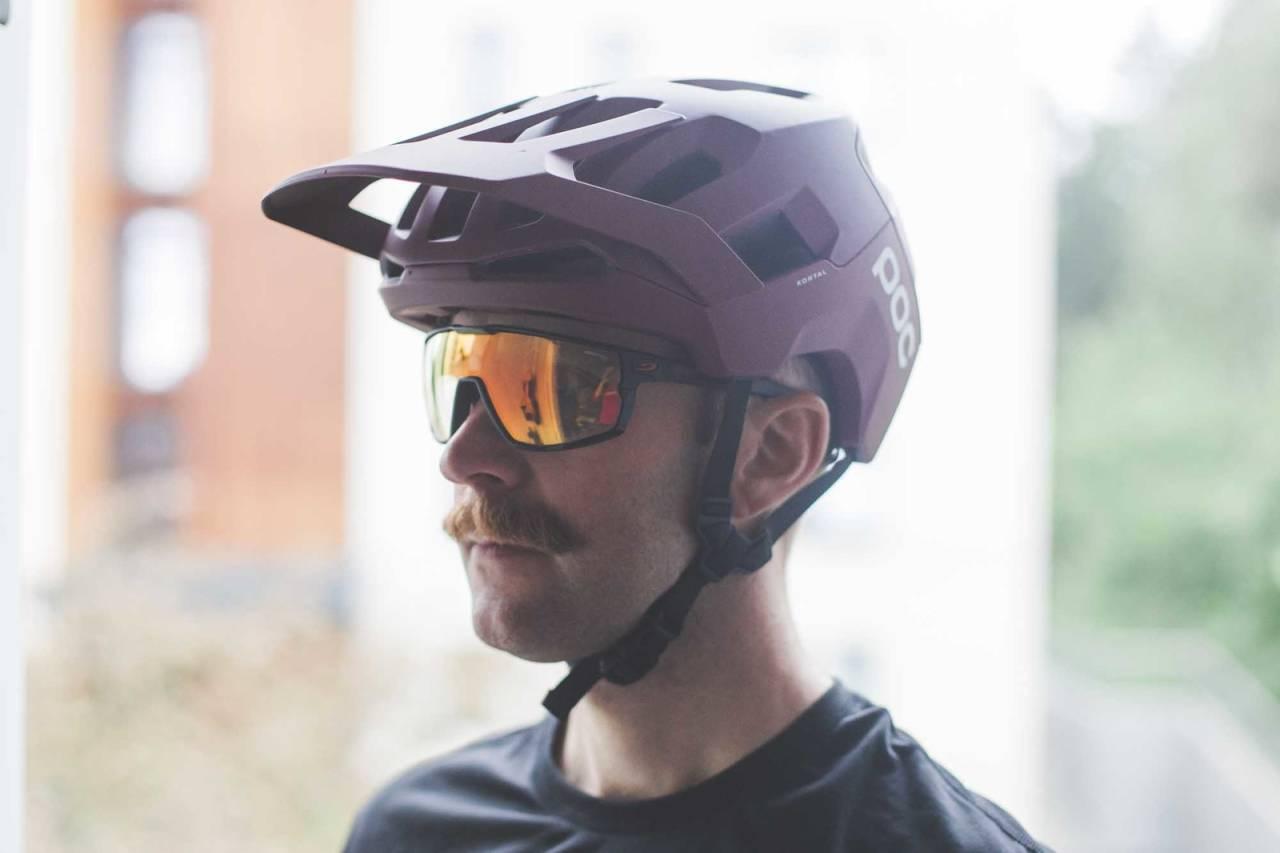 test poc kortal sykkelhjelm terrengsykkel