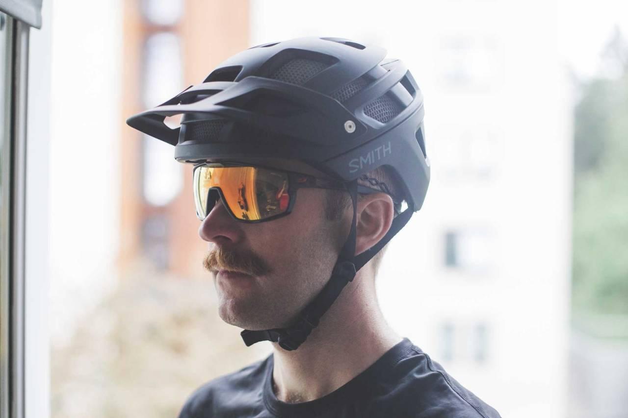 smith forefront sykkelhjelm test terrengsykkel