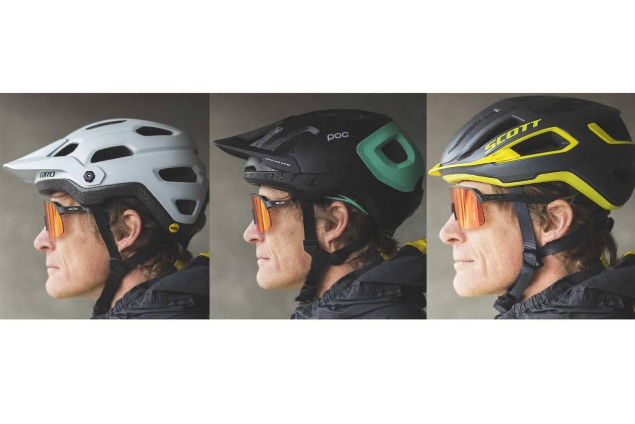 test sykkelhjelmer scott giro poc