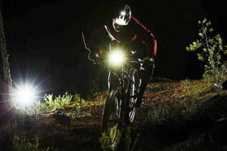 sykkellykt terrengsykkel lumens styrke