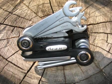 test topeak alien multiverktøy miniverktøy sykkel