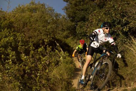 test av sykkelhjelmer sykkelritt trening