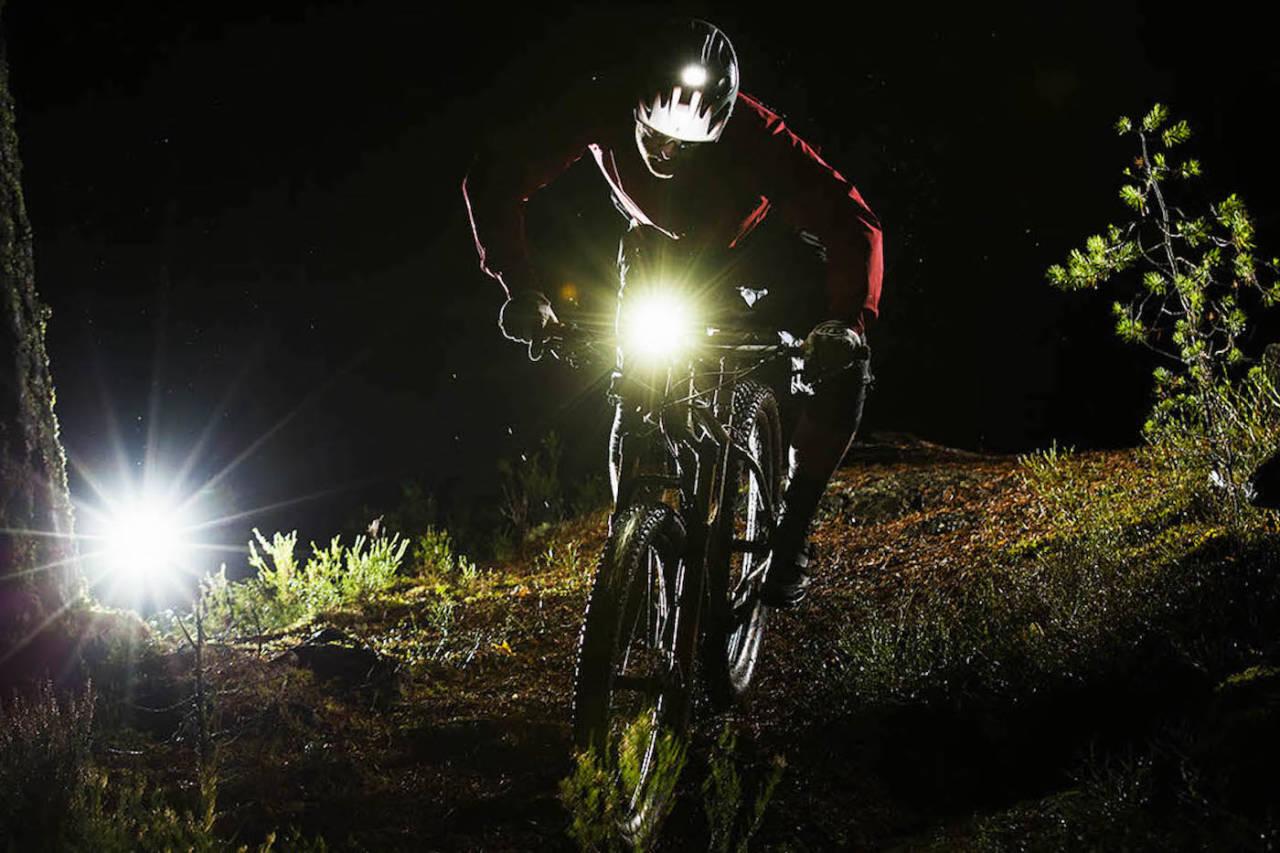 test lys sykkel sykkellykt