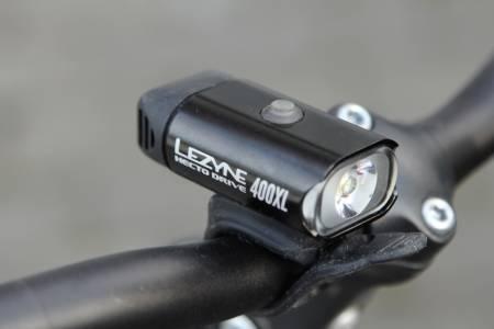 test lezyne sykkellykt
