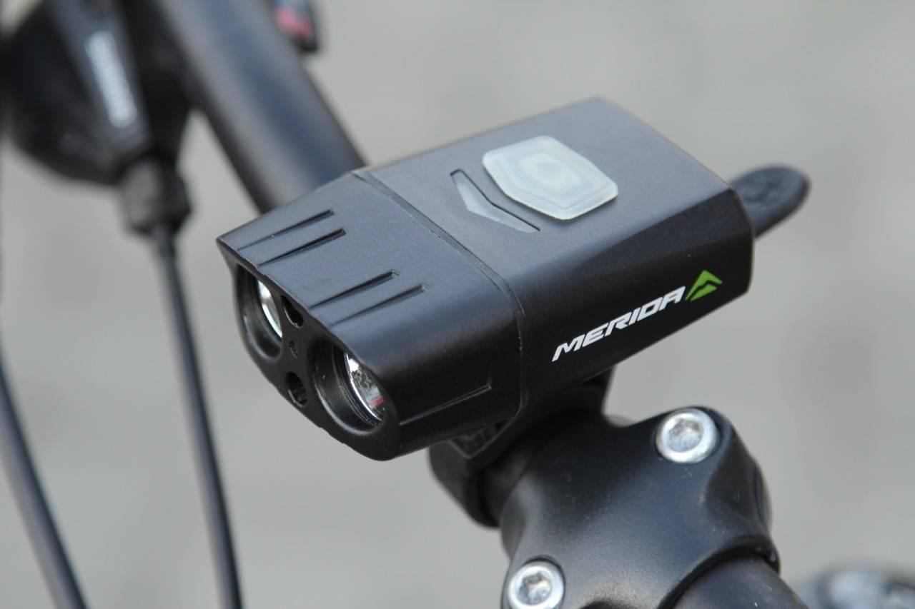 test merida sykkellykt