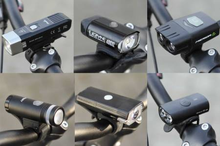 test lys sykkel