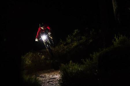 test av sykkellys lykt sykkel