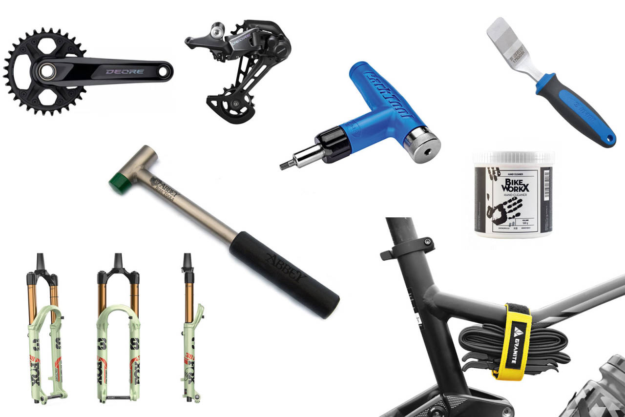 NYTT OG NYTTIG: Vask hendene og følg med på momentet når du skrur fast styret. Har du dyr sykkel, kan du kanskje unne deg en titanhammer også?