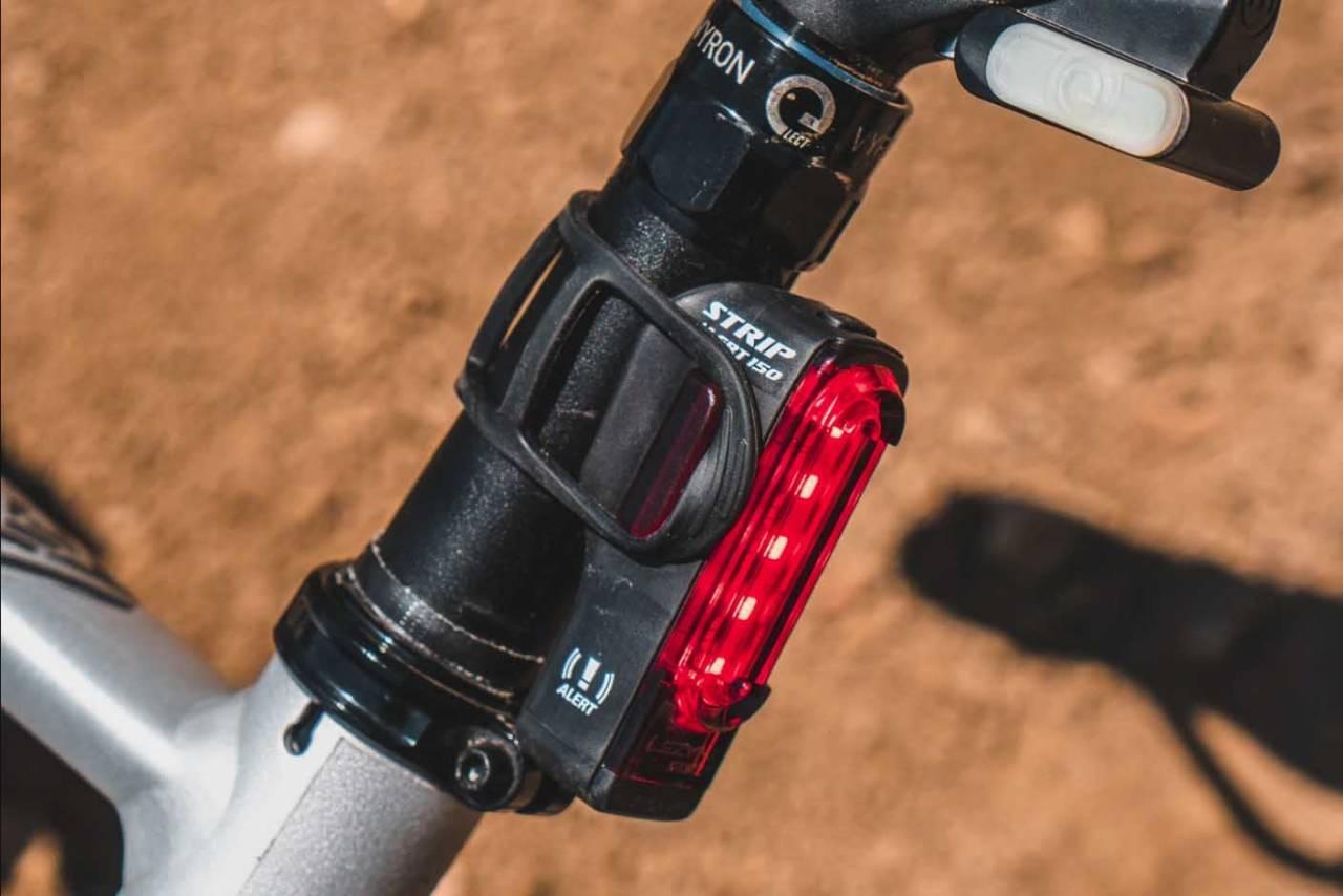 lezyne sykkellykt alert technology