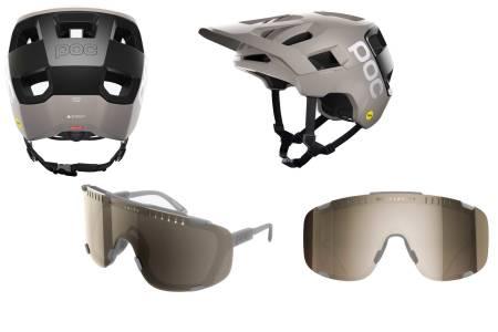poc kortal race mips sykkelhjelm devour sykkelbriller