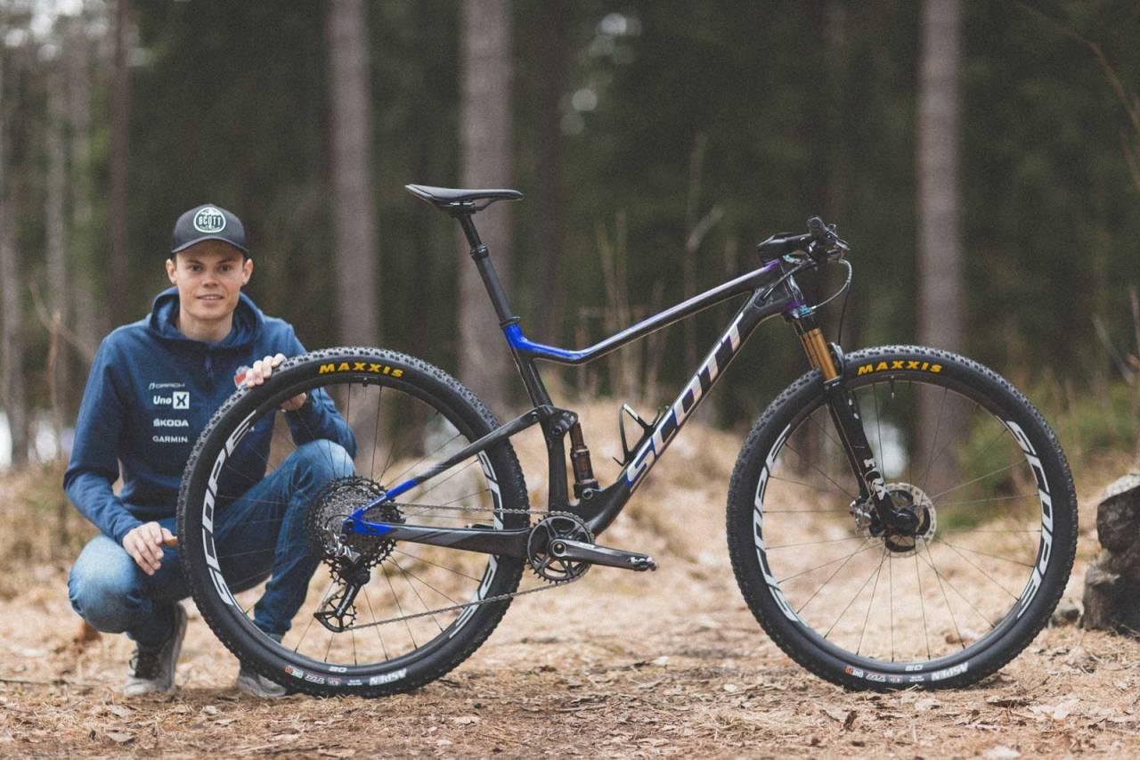 erik hægstad scott spark rittfulldemper sykkel