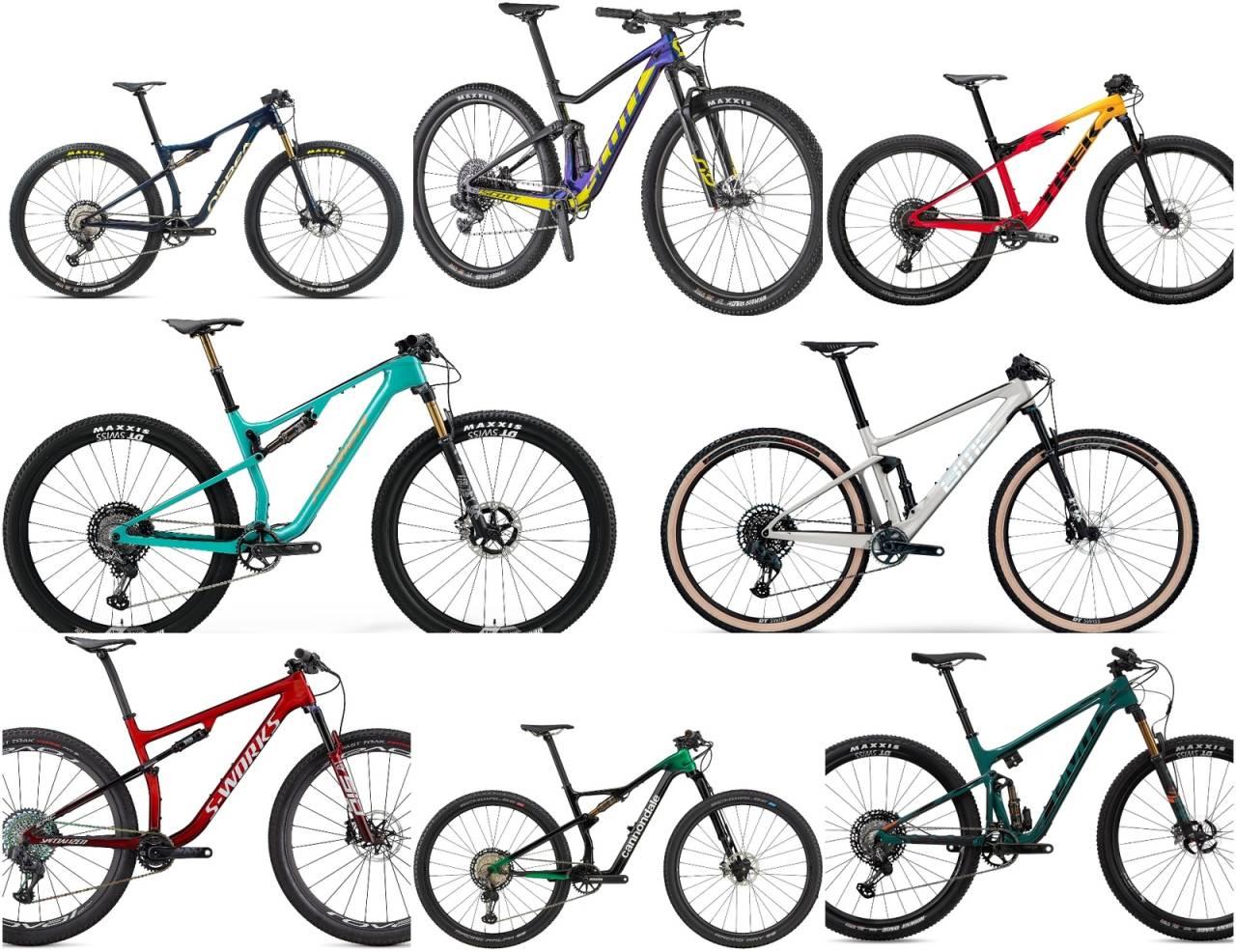 årets kuleste rittfulldempere, Orbea, Scott, Trek, Merida, BMC, Specialized, Cannondale, Pivot