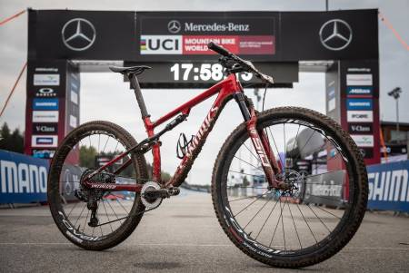 Simon Andreassens Specialized Epic S-Works