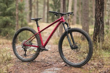 test specialized sykkel fuse hardtail stisykkel