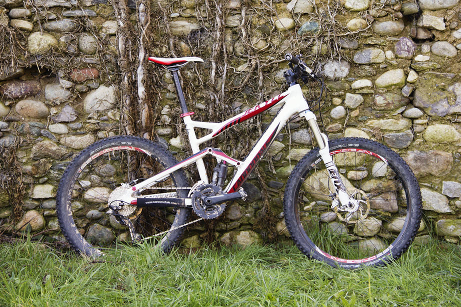 test cannondale jekyll 2012