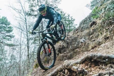 Sykkeltest. Test av endurosykler