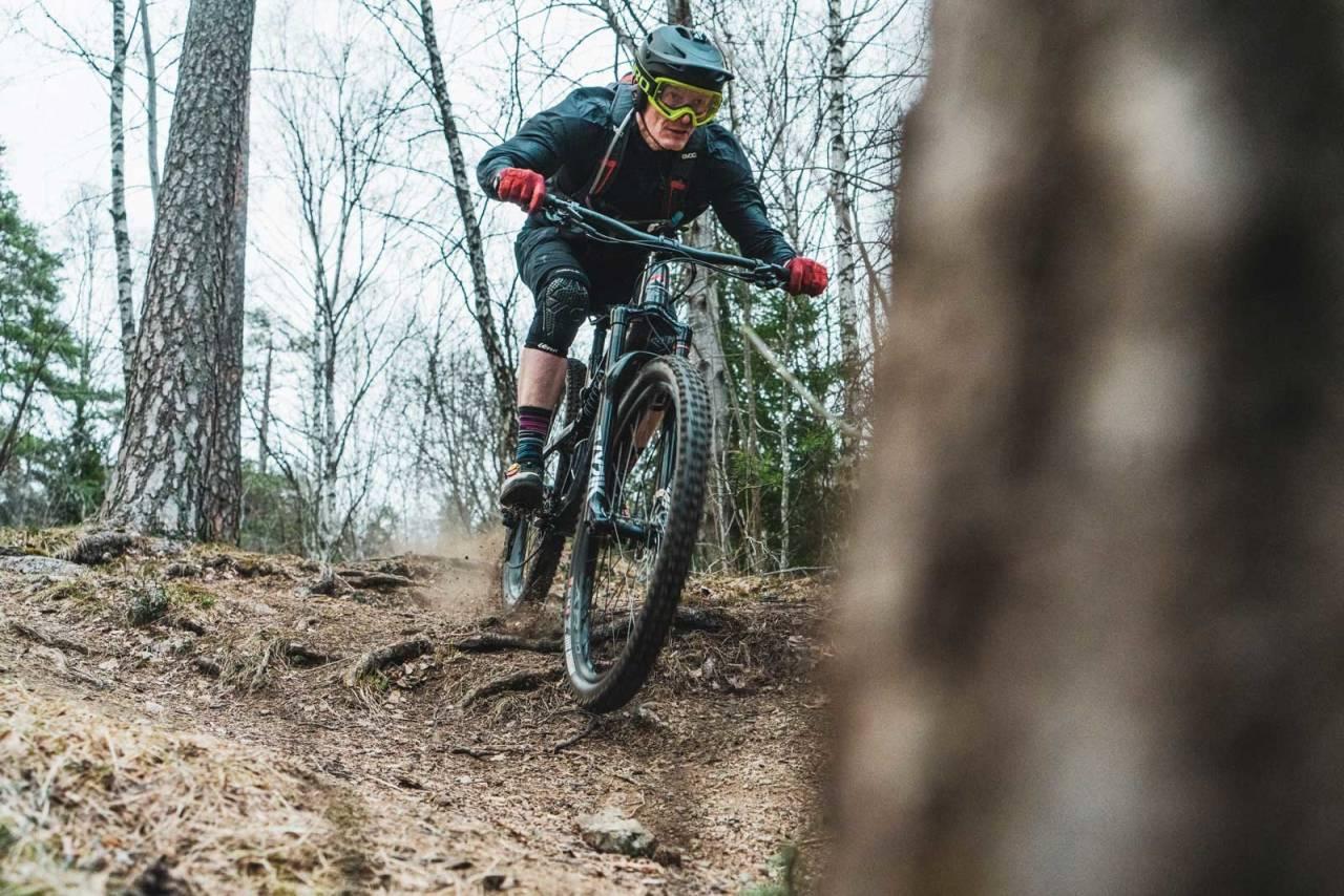 test endurosykkel