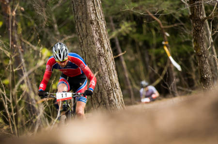 Sondre Kristiansen er en av rytterrne som er tatt ut til A-lagstroppen i EM første helga i mai. Foto: Snorre Veggan