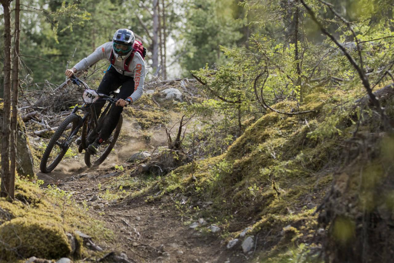 Nesbyen Enduro blir ett av rittene som inngår i lagkonkurransen til 80/20-serien. Foto: Per-Eivind Syvertsen