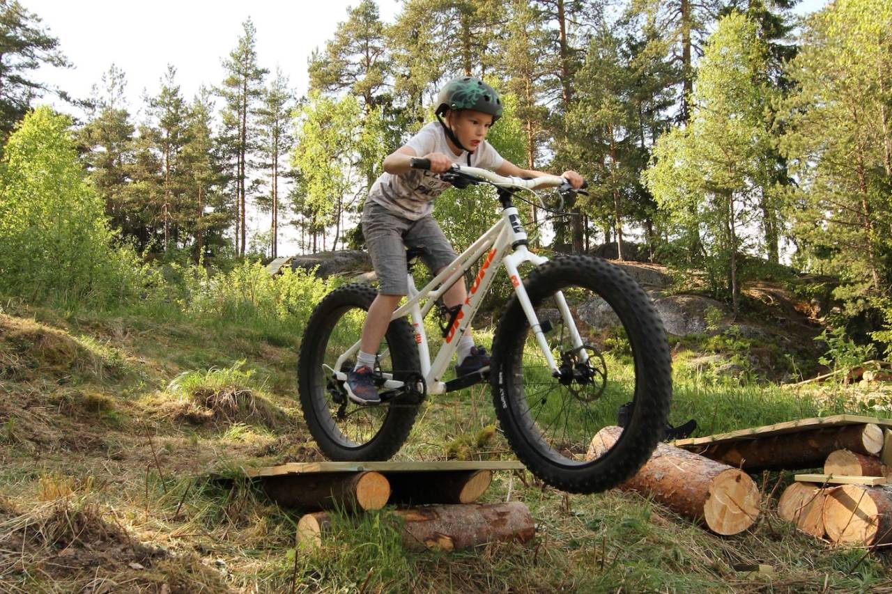 Tirsdag ble den nye sykkelparken på Siggerud innviet. Foto: Cato Symrebu