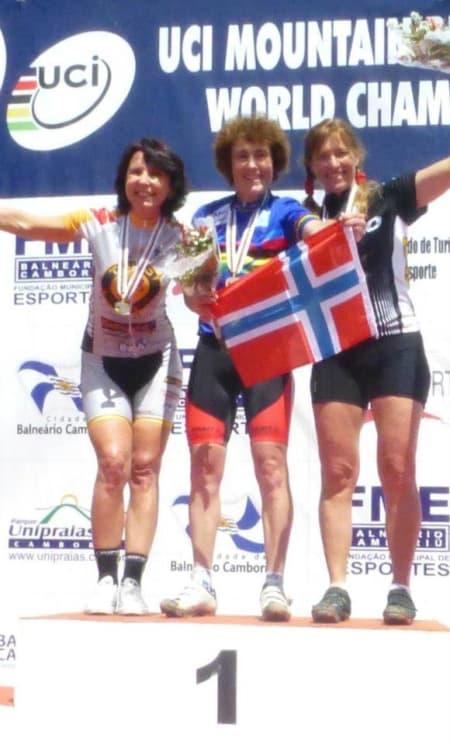 VERDENSMESTER: Gjertrud Bø vant sitt fjerde veteran-VM-gull i karrieren, i veteran-vm i Brasil.