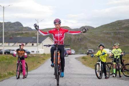 Thomas Engelsgjerd debuterte til seier i Skaidi Xtreme. Foto: Frank Rune Isaksen