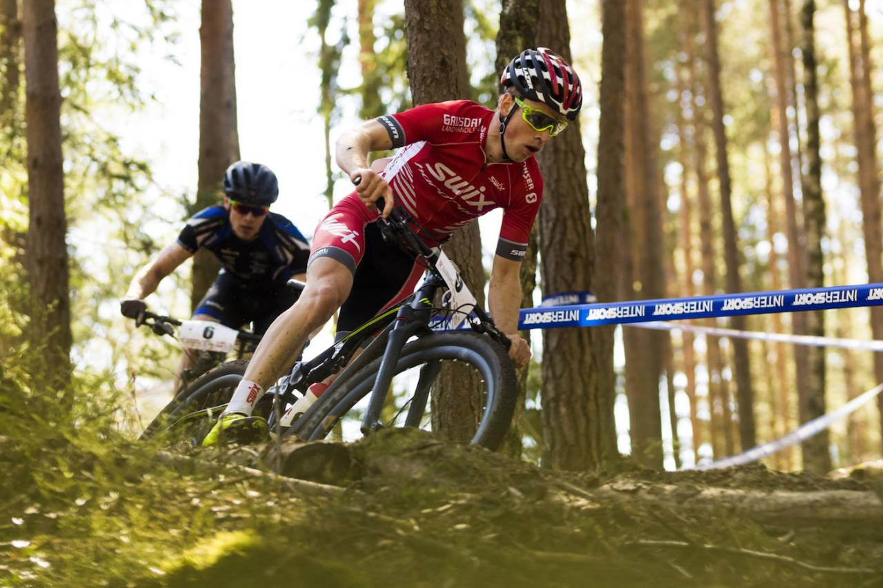 Ole Hem viste stor form under UCI-rittene i helga. Nå sykler han for NCF i Vårgårda på søndag. Foto: Snorre Veggan