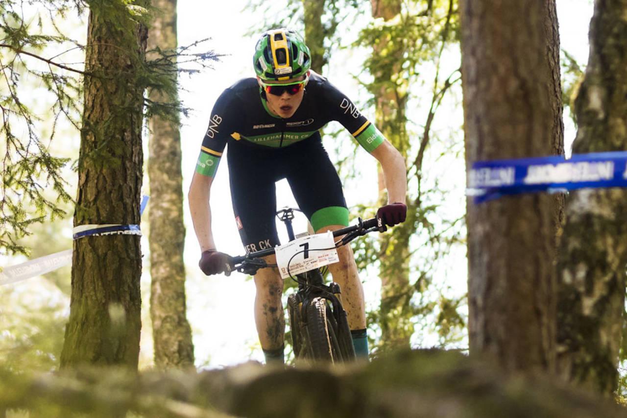 Erik Hægstad er en av fem menn som er tatt ut på landslaget til rundbane-EM i Graz i Østerrike. Foto: Snorre Veggan