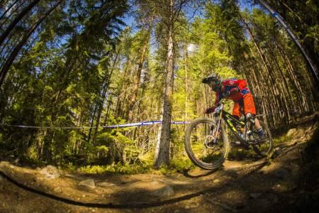 Atle Hagen Laakso verdenscupdebuterer til helga med ritt i Val di Sole i Italia. Her fra NM i fjor. Foto: Snorre Veggan