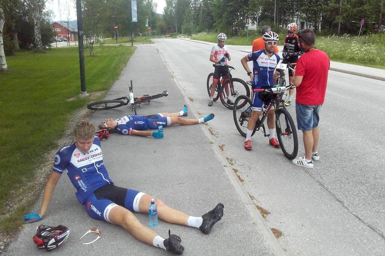 Dramatisk avslutning på Trans-Østerdalen | Sykkelritt ...