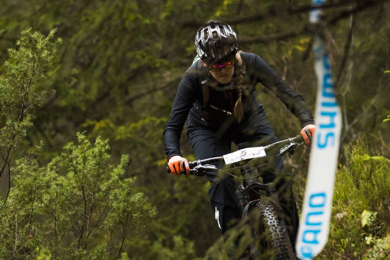 Andrea Couceron ble jokeren som sikret seiren for BOC i lagkonkurransen under Ringerike Enduro i oktober. Per-Eivind Syvertsen