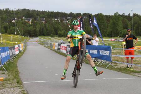 Petter Fagerhaug vant NM-gullet også i år. Foto: Simen Eriksen/NCF