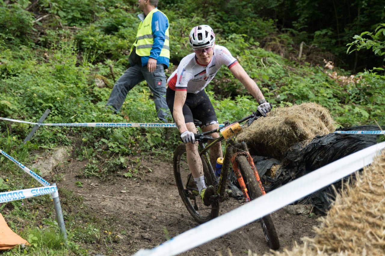 Petter Fagerhaug var beste norske på verdenscuprunden i Albstadt i Tyskland. Foto: Bengt Ove Sannes