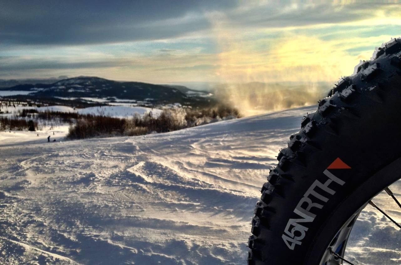 BEITOSTØLEN FATBIKE CHALLENGE: Siste helga i februar er det duket for tjukkasfest i fjellheimen. Foto: Privat