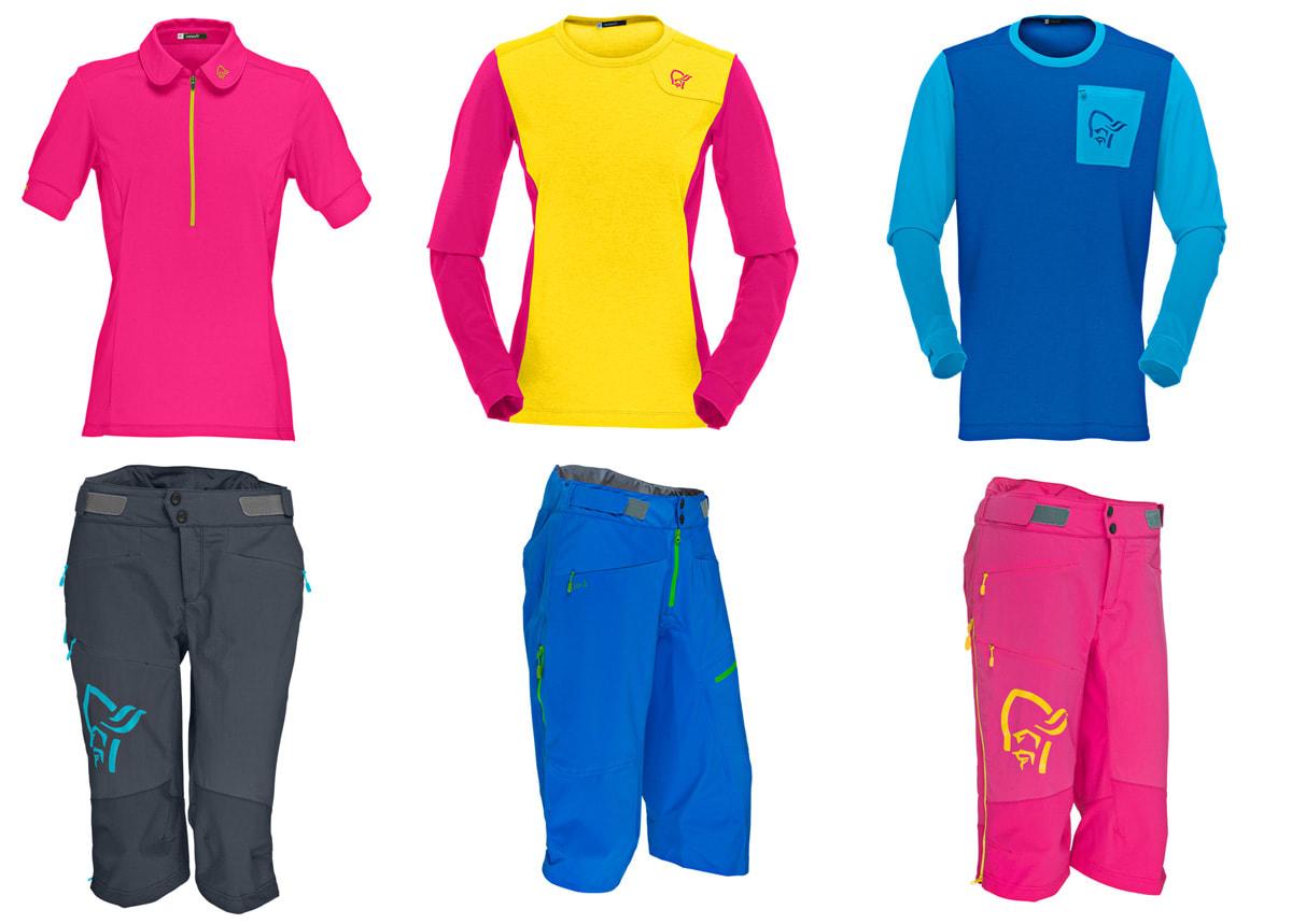 FRESKE FARGER: Tradisjonen tro kan man nesten si, kommer de nye Fjørå-klærne i friske farger.